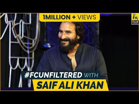 Saif Ali Khan Interview With Anupama Chopra | Sacred Games | FC Unfiltered