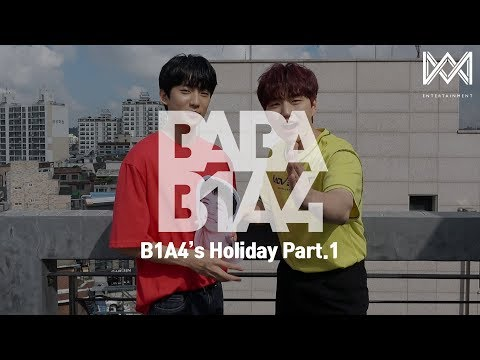 [BABA B1A4 4] EP.13 B1A4's Holiday Part.1