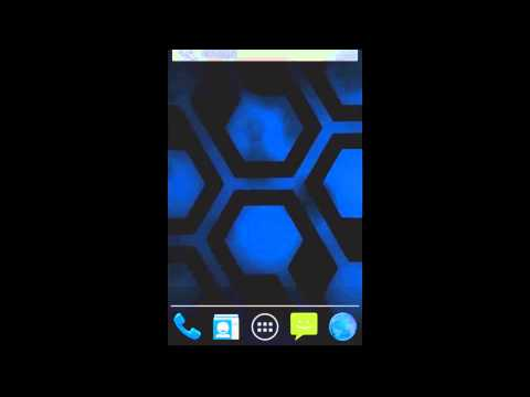 Video of Jelly Bean Blue Hex Lite LWP