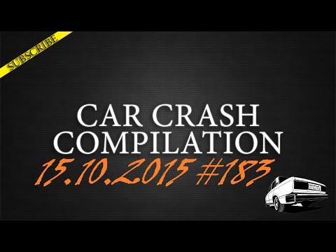 Car crash compilation #183 | Подборка аварий 15.10.2015