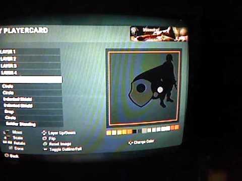 how to make black ops 3D gun emblem