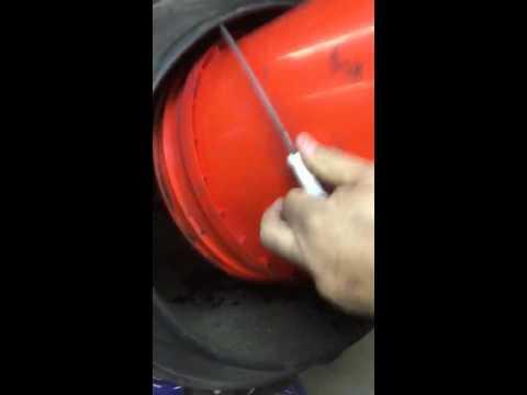 JPO Rig Blend vs. Oil Cuttings