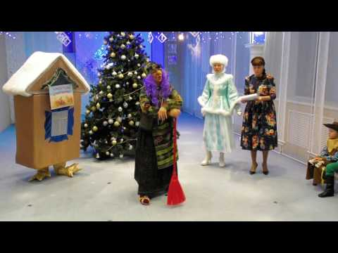 Новый год 2017 детсад Сибирячок (видео)