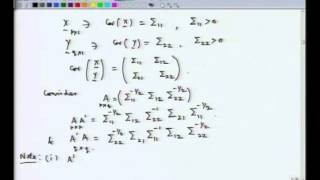 Mod-01 Lec-40 Canonical Correlation Analysis