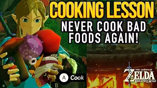 This Zelda Breath of the Wild  How to Cook and Avoid Dubious Foods video will show you the simple rules for cooking so you never cook useless dubious foods again! There are over 100 hundred recipes to be made in Zelda and the same goes for Elixirs as well. Wanna buy me a cup of coffee :) https://youtube.streamlabs.com/hyrule..._____________________________________________PLEASE CHECK OUT SOME OF MY OTHER COOL VIDEOS! HOW TO FARM RARE ITEMS IN BREATH OF THE WILD:https://youtu.be/cVfWZwunjCQ?list=PLT...HOW TO MAKE MONEY IN BOTW:https://youtu.be/_71dOI6S7JYHow to CookThe Most Expensive Lynel Elixirs:https://www.youtube.com/playlist?list=PLTeo8k1SzTr1I3cj8AFKPJcIbXLbA8J8Q_____________________________________________Gear Used to Make this Video:1) El Gato HD60 Game Capture Card - http://amzn.to/2sol0qB2) iMac 27 Inch Retina 5K - http://amzn.to/2rLf5up3) Blue Snowball - http://amzn.to/2s7glIVDISCLAIMER: This video and description has amazon affiliate links and this means that if you click on one of the product links above, which shows the gear I used to make this video with, I'll get a small commission. This helps support my channel and allows me to grow bigger and better and continue making the best game content I can! Thank you for the support in advance! Cheers!