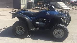 5. 2007 Honda FourTrax Rancher AT