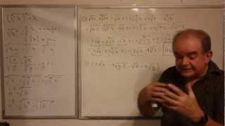 Algebra Intermedia - Lección 7 - B (multiplicación De Multinomios Con Radicales)