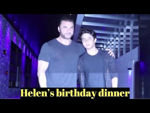 Sohail Khan attends Helen's birthday dinner At Hakkasan Mumbai