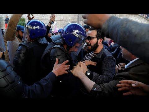 Algerien: Ausschreitungen bei neuen Protesten gegen B ...