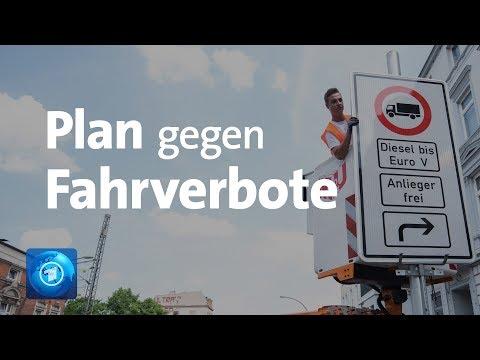 Merkel will Fahrverbote für Diesel mit neuem Gesetz verhindern