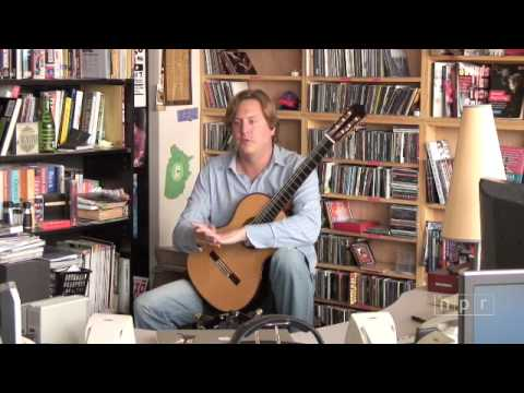 Jason Vieaux Tiny Desk Concert at NPR Music