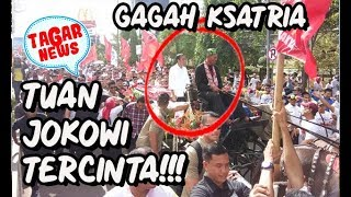 Video GAGAH BERANI JIWA KSATRIA, JOKOWI NAIK KERETA KUDA SAAT KAMPANYE DI BANTEN!!! MP3, 3GP, MP4, WEBM, AVI, FLV Maret 2019