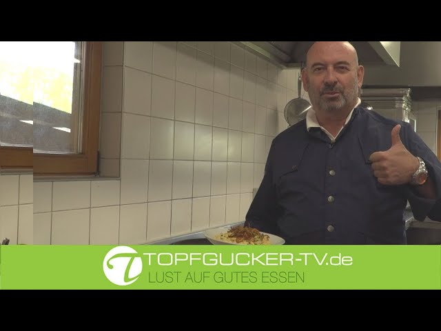 Kali´s Käsespätzle mit Allgäuer Weißlackerl | Topfgucker-TV