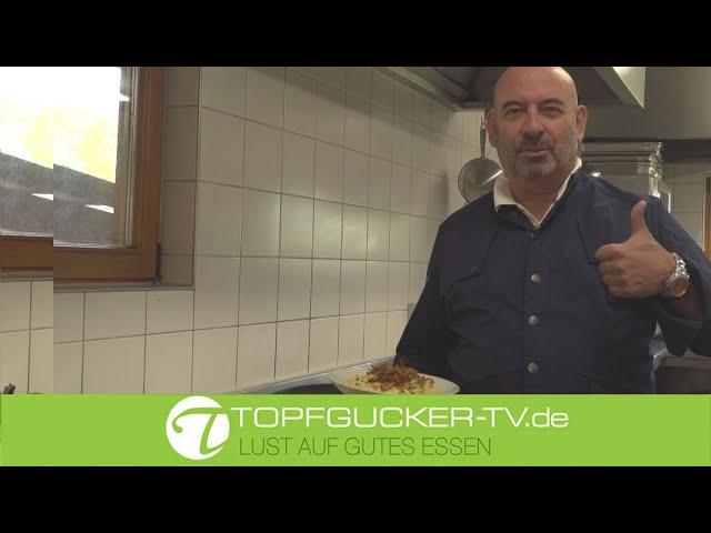 Kali´s Käsespätzle mit Allgäuer Weißlackerl   Topfgucker-TV
