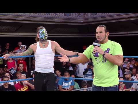 wrestling - To kick off IMPACT WRESTLING Team 3D comes out to get to the point but they are interrupted by the Hardys and what happens next is sure to be something histo...