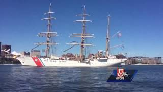 Sail Boston is coming to an end as the tall ships leave Boston Harbor Thursday. Subscribe to WCVB on YouTube for more: ...