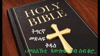 ትግርኛ መጽሓፍ ቅዱስ 1 Corinthians 13