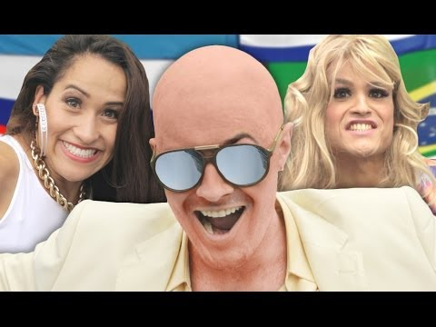 "Pitbull ft. Jennifer Lopez – ""We Are One"" (Ole Ola) [2014 World Cup Song] PARODY"
