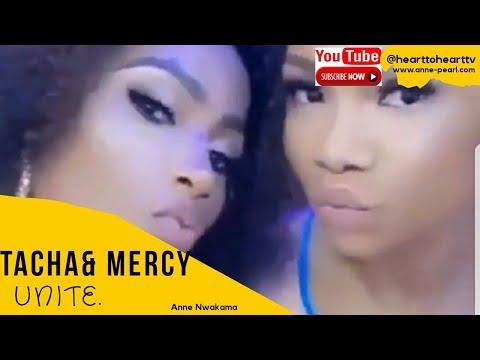 Tacha & Mercy Fight & Unite At BBNaija Party
