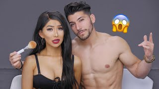 Video *NEW* Boyfriend Does My Makeup! MP3, 3GP, MP4, WEBM, AVI, FLV Januari 2018