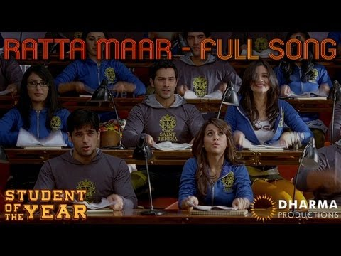 Ratta Maar - Student Of The Year -