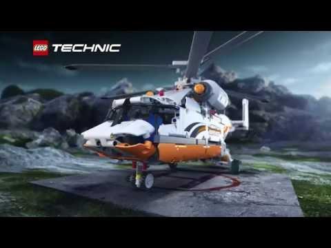 Конструктор Грузовой вертолет - LEGO TECHNIC - фото № 4