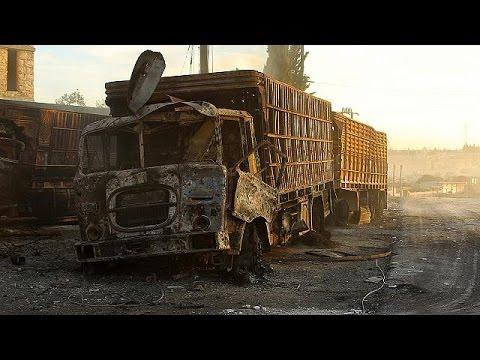 Στο στόχαστρο κονβόι ανθρωπιστικής βοήθειας στο Χαλέπι – Εκεχειρία τέλος, ανακοινώνει η Δαμασκός