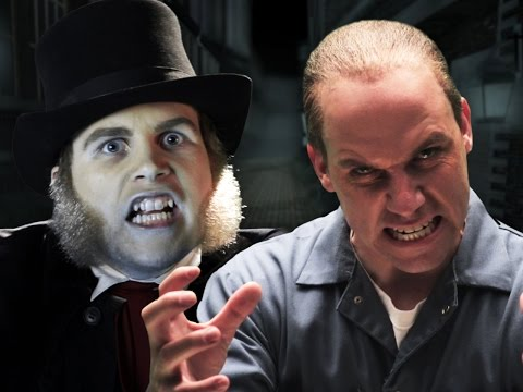 Jack the Ripper vs Hannibal Lecter.  Epic Rap Battles of History Season 4. (видео)