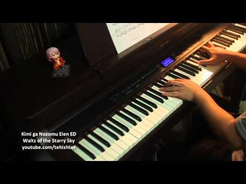 Kimi ga Nozomu Eien ED - Hoshizora no Waltz (Improvised Arrangement) (видео)