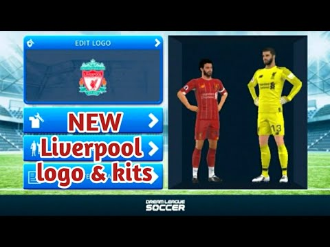 How To Create Top🔥Real🔥Liverpool Logo And Kit | Dream League Soccer | DREAM GAMEplay