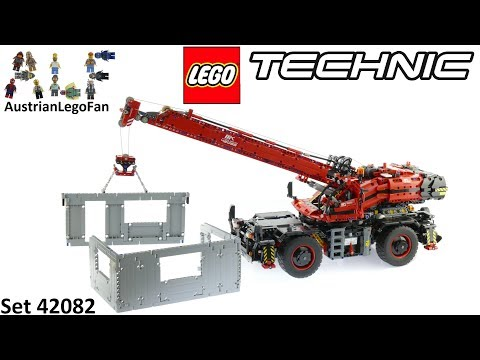 Lego Technic 42082 Rough Terrain Crane - Lego Speed Build Review