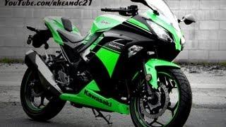 9. Go Pro HERO - The power of the Kawasaki NINJA 250R