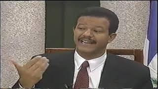 Leonel Fernández en el Lanzamiento de su campaña 1996