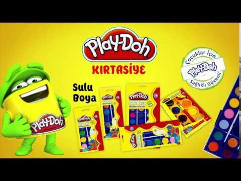Play-Doh Kırtasiye Sulu Boya - Keceli Boya TV Spot Reklam