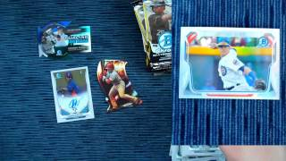 2014 Bowman Chrome Baseball Cards Box Break