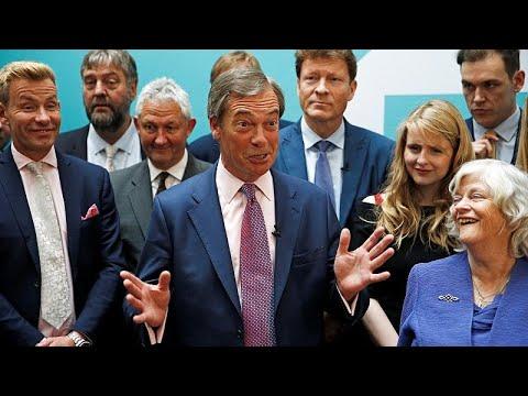 Ρόλο διαπραγματευτή Brexit διεκδικεί ο Νάιτζελ Φαράτζ