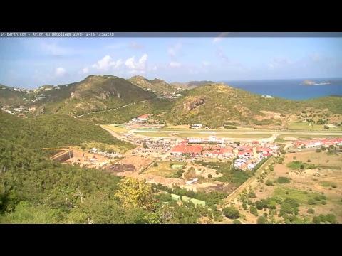 Live-Cam: Französisches Überseegebiet - Saint-Barthélemy (Insel) - Flugplatz