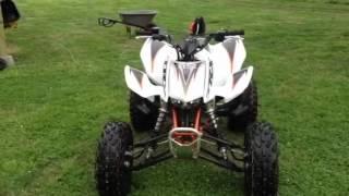 6. 2012 Honda trx 450r
