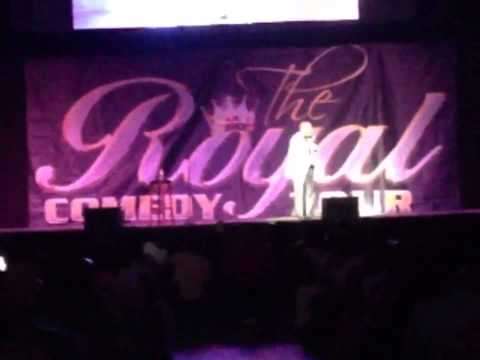 Joe Torry @ Royal  Comedy Tour..EarthQuake