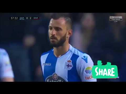 Deportivo vs Barcelona 2-4 All Goals & Highlights - 29/04/2018