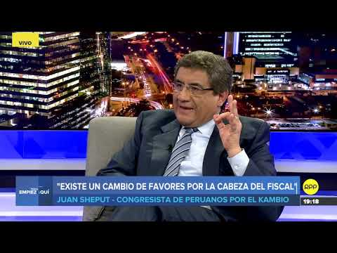 "Download #TEA | Juan Sheput: ""Habría coordinación entre el abogado de Chávarry y Fuerza Popular"" hd file 3gp hd mp4 download videos"
