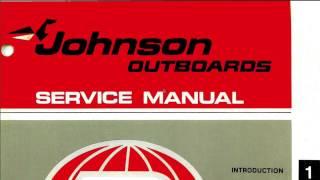 Download Lagu 1978 Johnson 175 200 235 HP Outboard Mp3