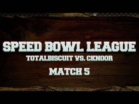 bowl - TotalBiscuit brings you the fifth match of the new Speed Blood Bowl League, facing off against cKnoor. Check out cKnoors channel: https://www.youtube.com/use...