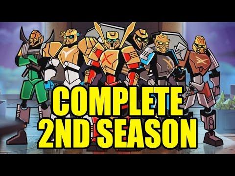 BIONICLE Season 2 (Complete) Episodes 1-8