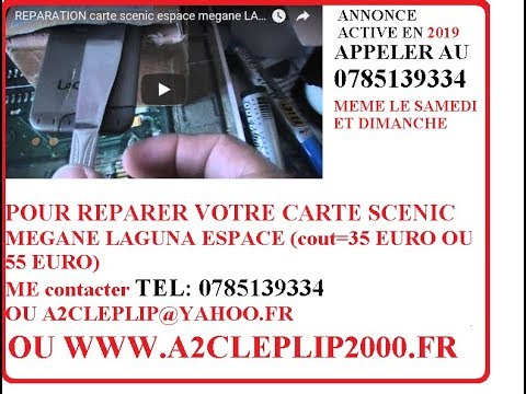 comment demonter carte laguna 2