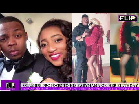 OLAMIDE PROPOSES TO HIS BABYMAMA ON HER BIRTHDAY