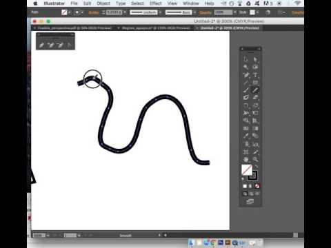 Smoothing Out A Path In Adobe Illustrator