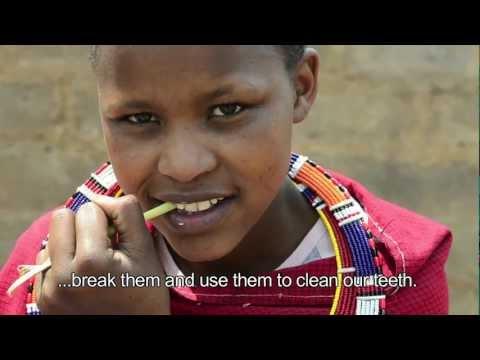 Una giornata con Elisa, in un villaggio Masaai