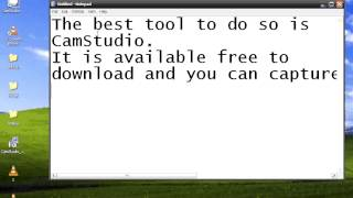 This is how you can capture your desktop live with this powerful tool named as CamStudiowhich is available free of cost.