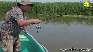 Рыбалка в дельте Волги (часть1).